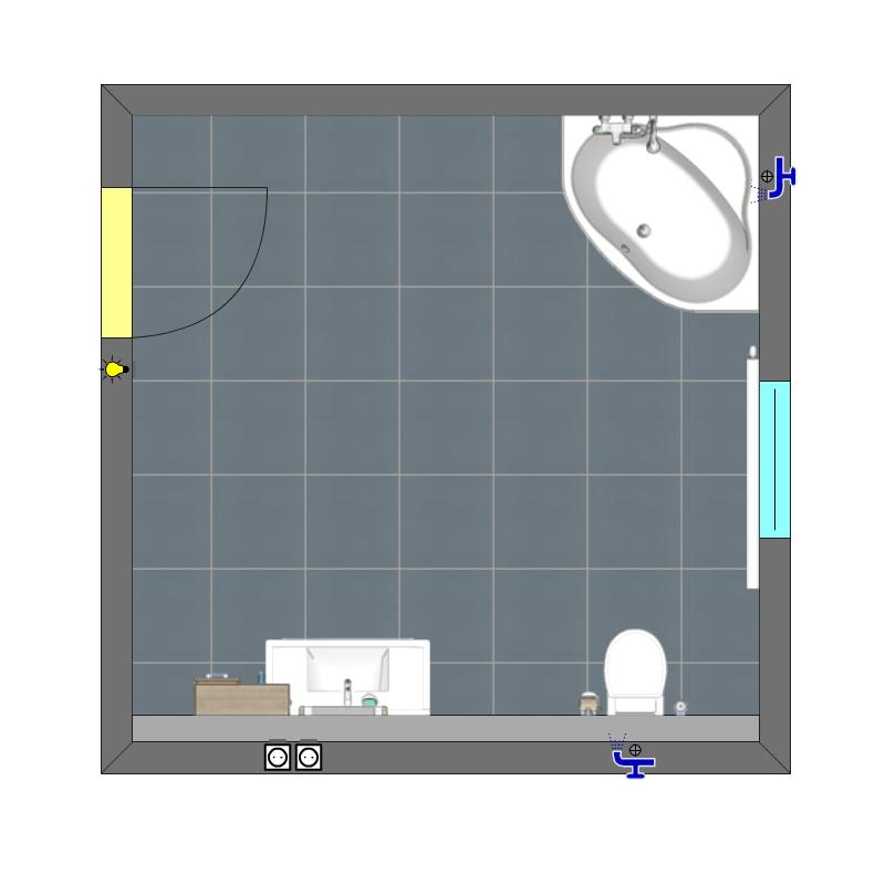 Fliesen-Meisterbetrieb Wewers - innoplus Badplaner Beispiel 3
